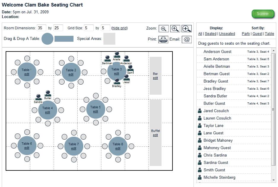 wedding seating chart program - Kubre.euforic.co
